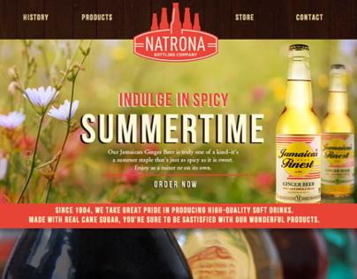 Natrona Bottling: Web Design