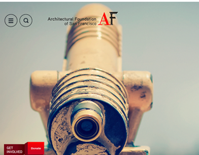 AFSF.org user interface