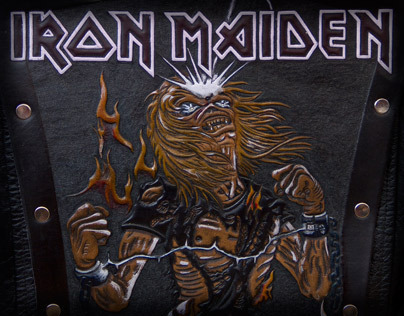Iron Maiden Backpatch - Fanart