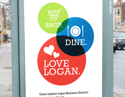 Logan Business District Identity