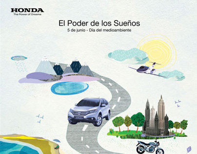 Magazine - Honda´s graphic design