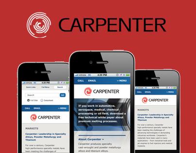 Carpenter - Mobile Templates