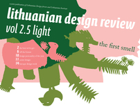 newspaper. lithuanian design review