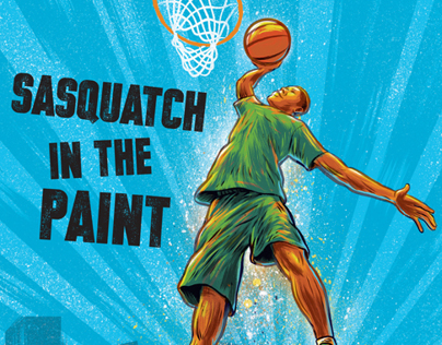 Sasquatch in the Paint Cover