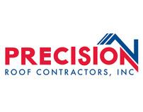 Precision Roof Contractors, Inc Logo Rebrand