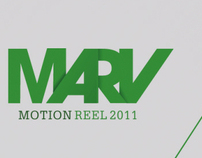 Motion Reel 2011 - Marvin Koppejan