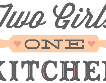 Two Girls One Kitchen Logo