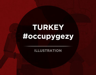 Turkey #occupygezi|Illustration