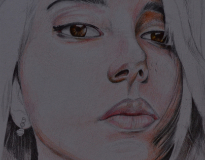 Michele Barbosa' Portrait Drawing
