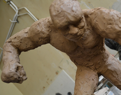 Power Punch ~ Sculpture