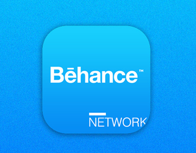 Behance App ,Icon Redesign