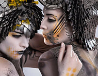 Bodypainting for Rebeca Saray