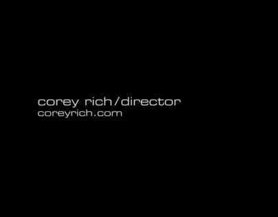 Corey Rich - Director Reel