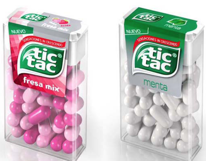 CGI Product Renderings for Tic Tac Product Launch
