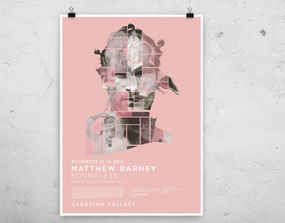 Matthew Barney Exhibit Poster