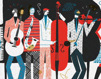 The Band - Illustration