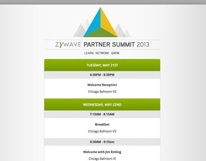 Online Schedule - Zywave Partner Summit