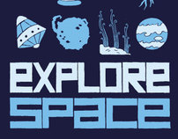 Explore Space Tshirt