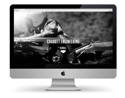Chabott Engineering Parallax Website