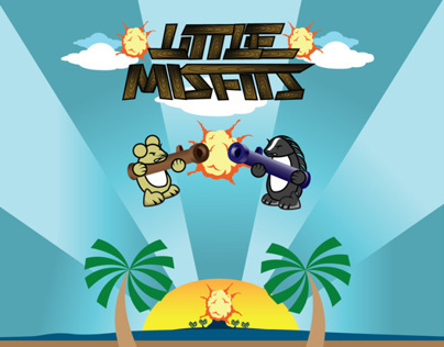 Little Misfits - Game App Design