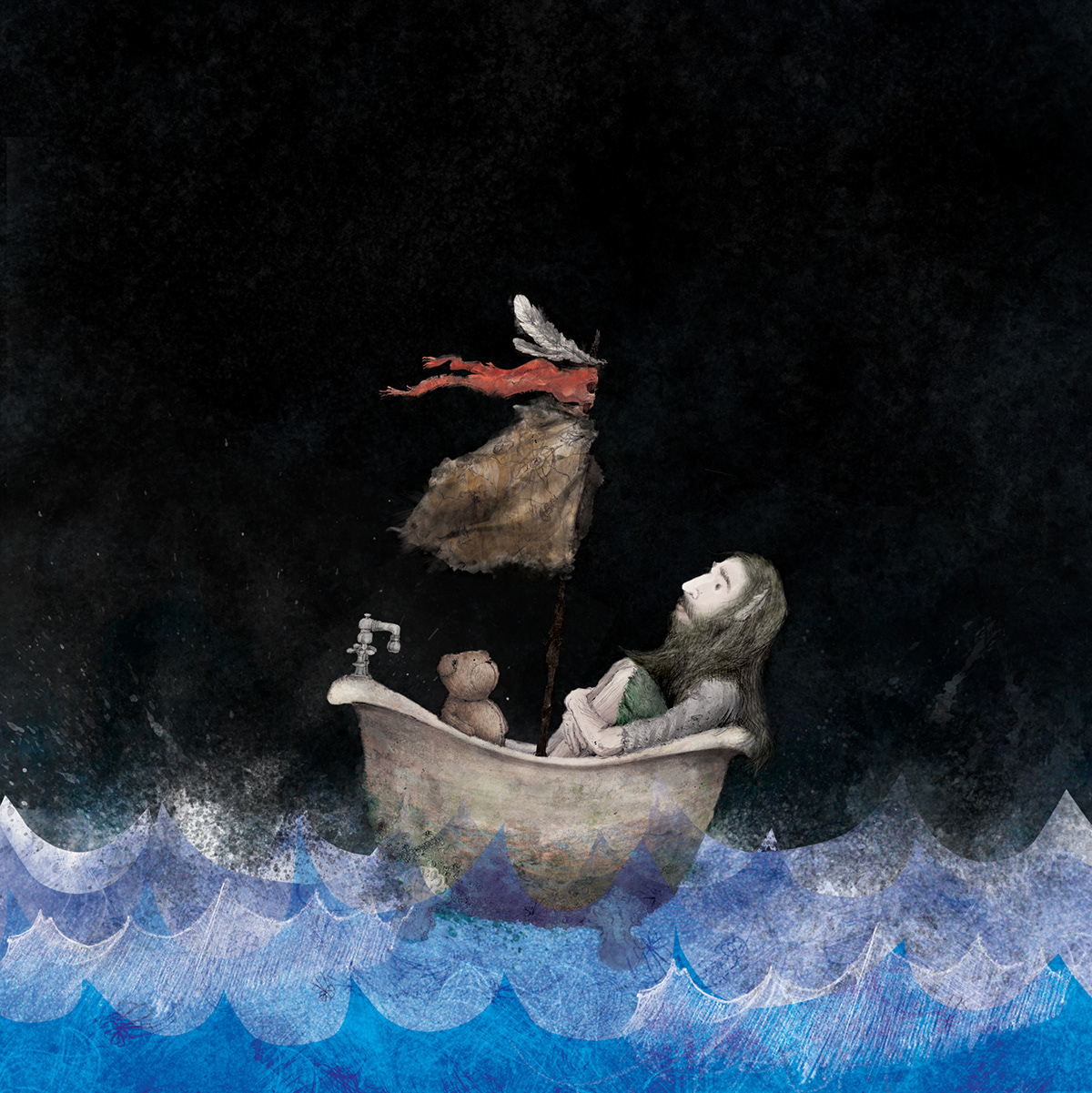 Noah and the Whale limited edition vinyl cover