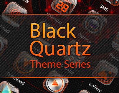 Black Quartz EX theme