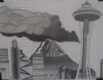 Graphite Illustrations