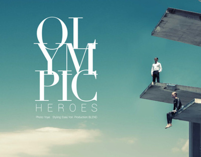 OLYMPIC HEROES EDITORIAL - Axel Magazine