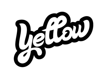 Yellow Cola drink - logotype, CI