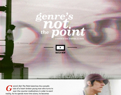"""Genres Not The Point"" website"