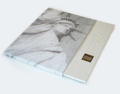 Ewan Gibbs: America - Book Design