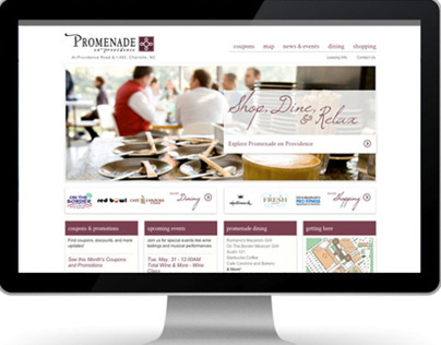 Promenade Shopping Center - Website