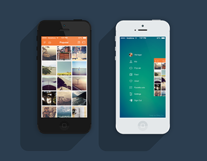 Instasave iPhone App - iOS 7