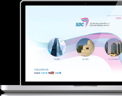 Scottish Dental Center website