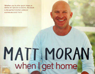 Matt Moran - When I Get Home - Cover Design