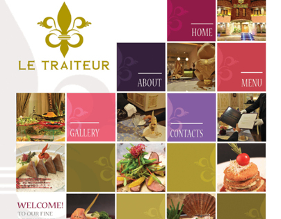 Le traiteur - Website 3