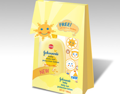 Johnsons Suncare Packaging | Under Push Associates