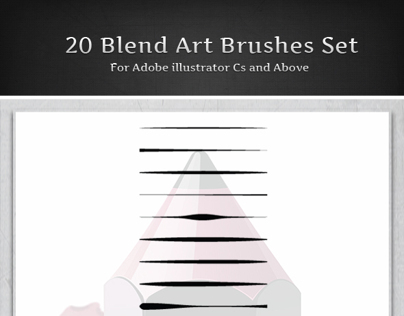 Blend Art Brush Style