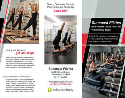 Suncoast Pilates - Brochure
