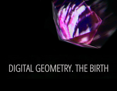 Digital Geometry. The Birth