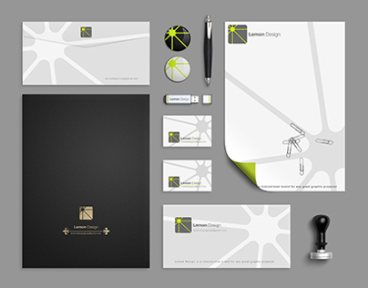 Identity / Branding / Stationery / Mock up