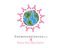 Race for the Cure logo_Thompson Coburn LLP