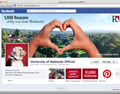 1,000 Reasons Facebook Campaign