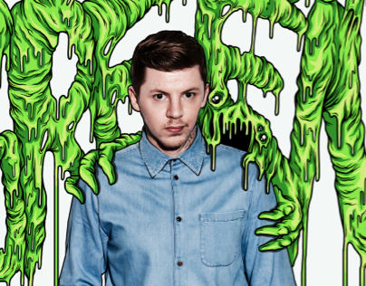 Professor Green. Nuts Magazine