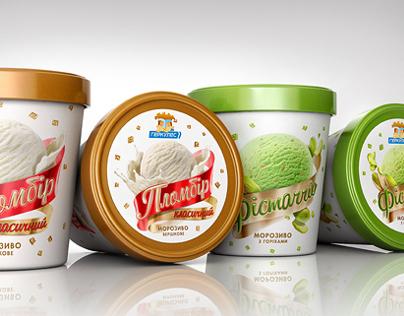Hercules Ice-Cream. Yummy packaging