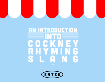 Cockney Rhyming Slang App