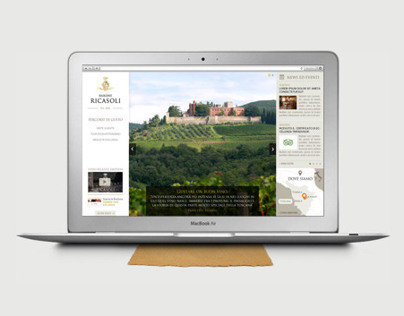 Barone Ricasoli - tours and events micro sites design