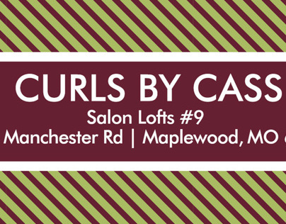 Curls by Cass Business Cards
