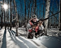 Winter Hunting - Edgy Commercial Images