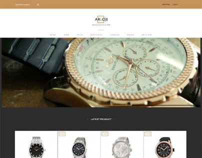 Arloji, WordPress Watch Store eCommerce Theme